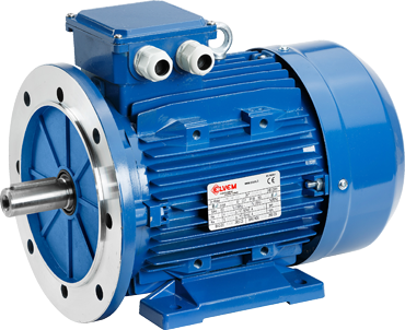 Motors with aluminium casing elvem for Standard electric motor sizes