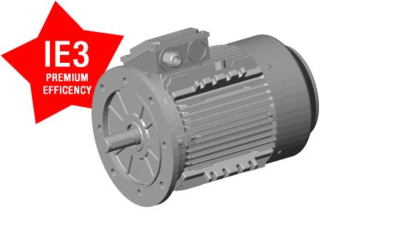 motori elettrici con cassa in alluminio