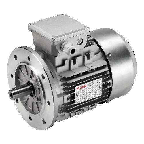 Standard asynchronous electric motors with aluminium housing