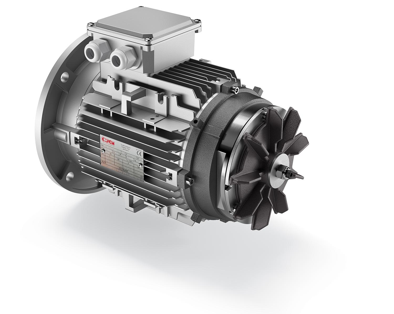 Motori elettrici asincroni autofrenanti Elvem - 4
